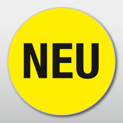 Promotions-Etikette «NEU», 20 mm