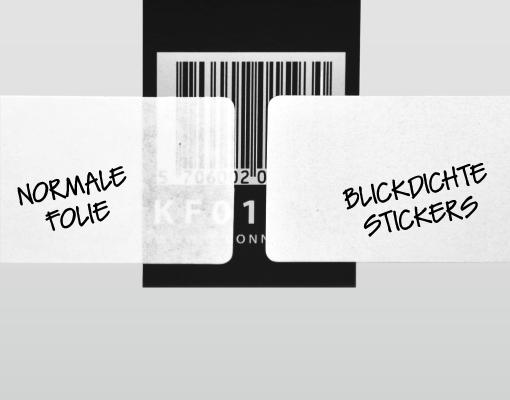 blickdichte sticker