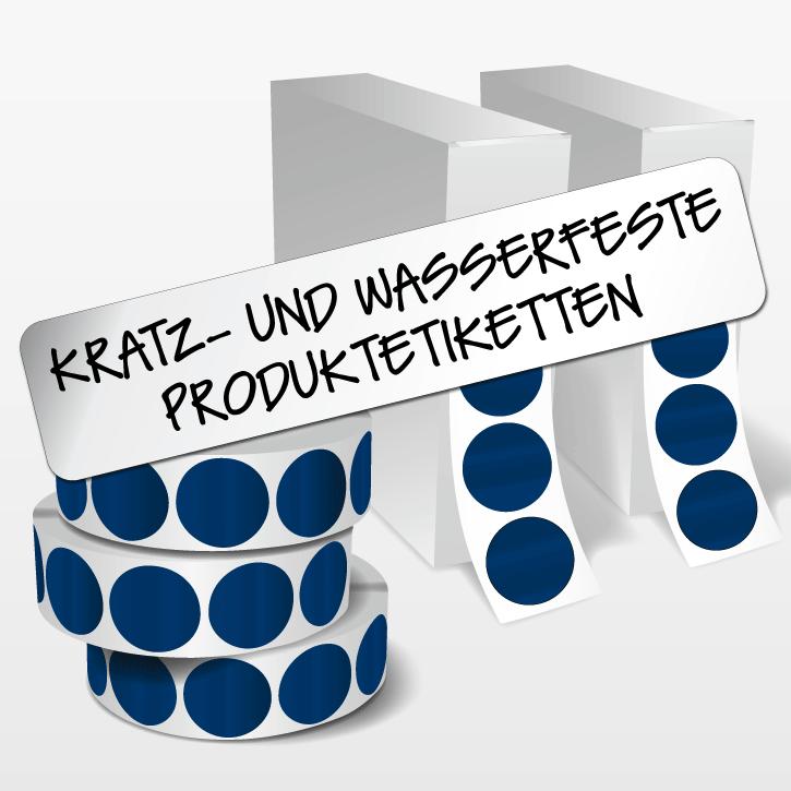kratz- und wasserfeste Produktetiketten