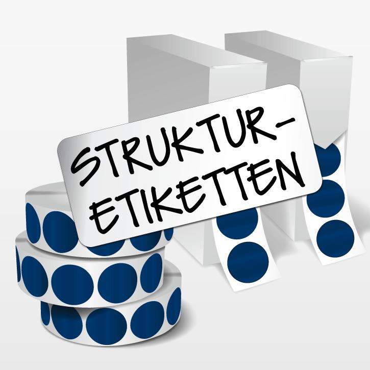 struktur etiketten