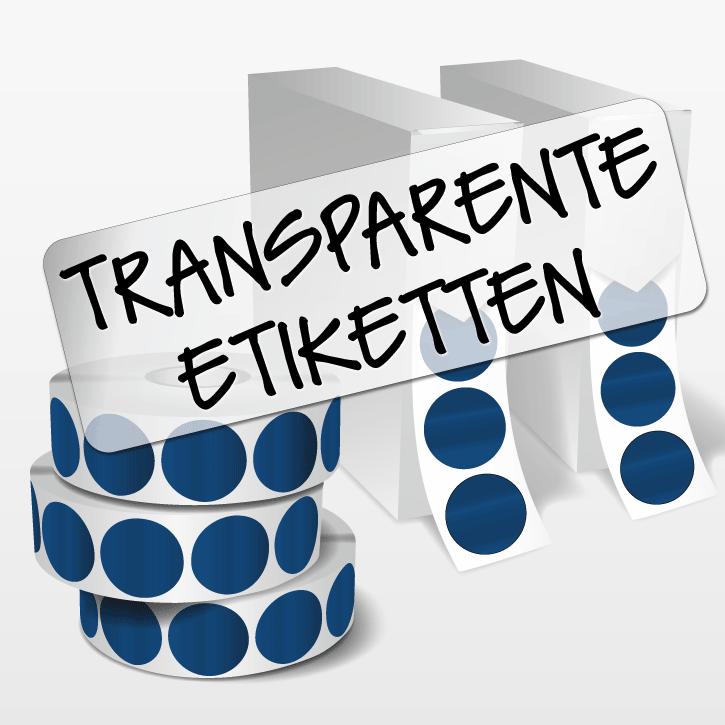 transparente rollenetiketten