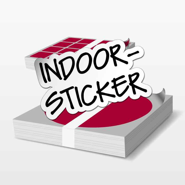 indoor sticker